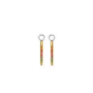 Sparnaaij juweliers - Ti Sento x Danie Bles - oorbedels multicolor