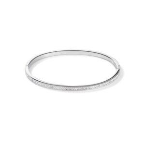 Coeur de Lion - armband staal crystal - Te koop bij Sparnaaij Juweliers in Hoofddorp