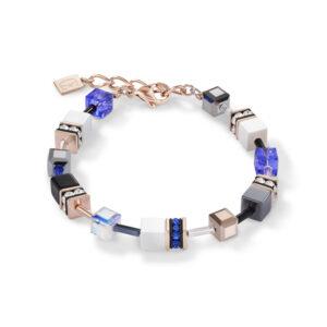 Coeur de Lion - Armband Geocube staal - Te koop bij Sparnaaij in Hoofddorp