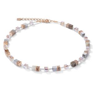 Coeur de Lion collier - agaat en hematiet - Te koop bij Sparnaaij juweliers in Hoofddorp