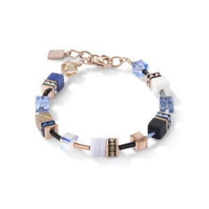Coeur de Lion armband - met howliet en calcedoon - Te koop bij Sparnaaij Juweliers in Hoofddorp