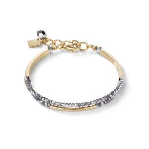 Coeur de Lion armband - Zilver en goud verguld crystal - Te koop bij Sparnaaij Juweliers in Hoofddorp