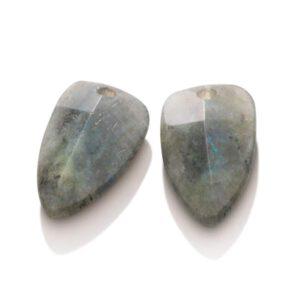 Sparkling Jewels - Oorhangers edge labradoriet - Te koop bij Sparnaaij Juweliers in Aalsmeer en Hoofddorp