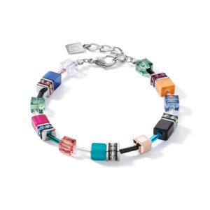 Coeur de lion armband - multicolour met synthetisch kristal - Te koop bij Sparnaaij Juweliers in Hoofddorp