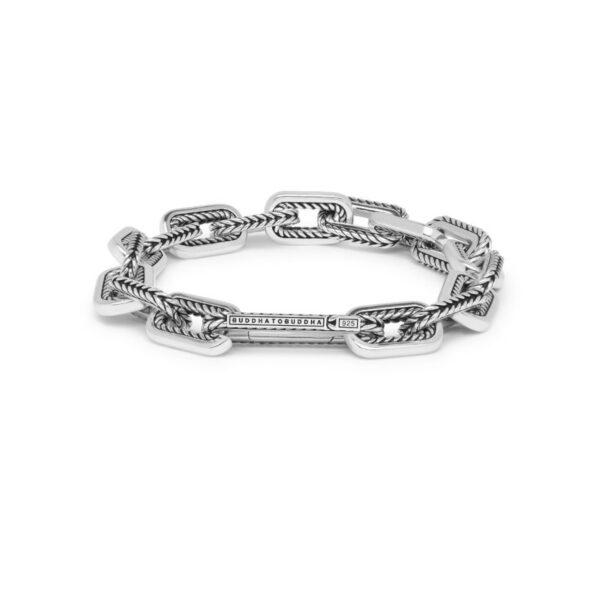 Buddha to Buddha Barbara link armband - zilver - Te koop bij Sparnaaij Juweliers in Hoofddorp en Aalsmeer