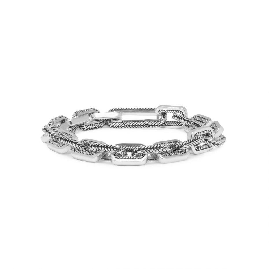 Buddha to Buddha Barbara link armband - zilver - te koop bij Sparnaaij juweliers in Aalsmeer en Hoofddorp