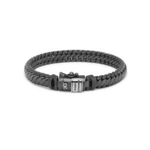 Buddha to Buddha armband Ben black rhodium silver - zilveren armband - Te koop bij Sparnaaij Juweliers in Hoofddorp en Aalsmeer